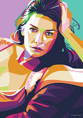 Royalty-Free and Rights-Managed Images - Catherine Zeta-Jones by Stars on Art
