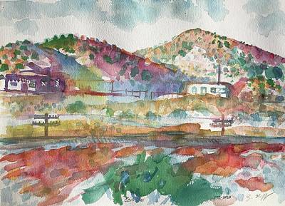 Painting - Cerrillos by Glen Neff