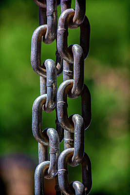 Door Locks And Handles Rights Managed Images - Chain Royalty-Free Image by Robert Ullmann