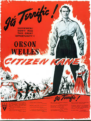 Royalty-Free and Rights-Managed Images - Citizen Kane 5, with Orson Welles, 1941 by Stars on Art