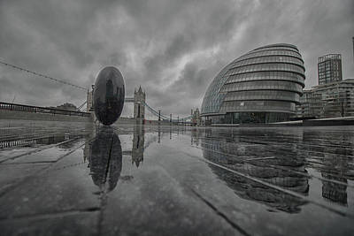 Wilderness Camping - City Hall London by Martin Newman