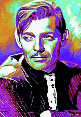 Digital Art - Clark Gable early career by Stars on Art