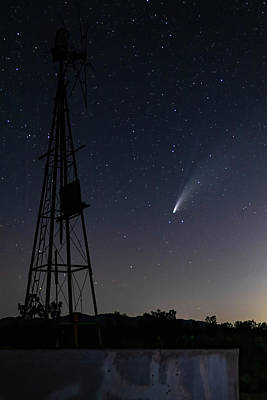 Olympic Sports - Comet Neowise II by James Marvin Phelps
