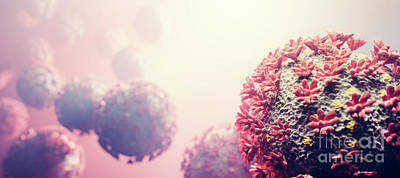 Modern Sophistication Beaches And Waves Royalty Free Images - Coronavirus COVID-19 attack organism. Royalty-Free Image by Michal Bednarek
