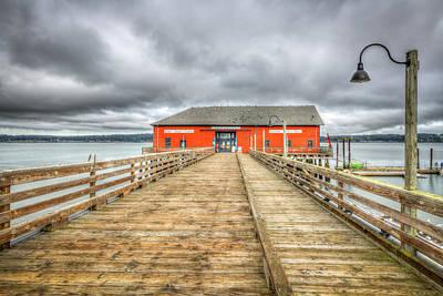Claude Monet - Coupeville Pier by Spencer McDonald
