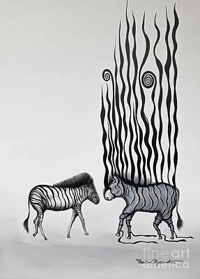 Abstract Works - Deja Vu by Fei A