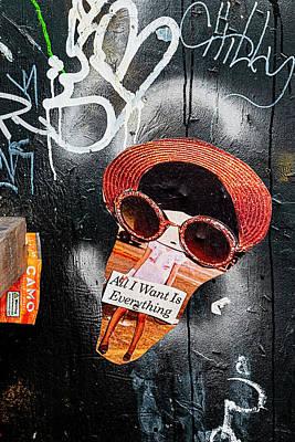 Mellow Yellow - Detail of Street Art by Robert Ullmann