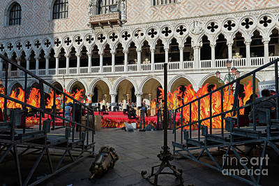 Studio Grafika Zodiac - Doges Palace in Venice Italy by Beautiful Things