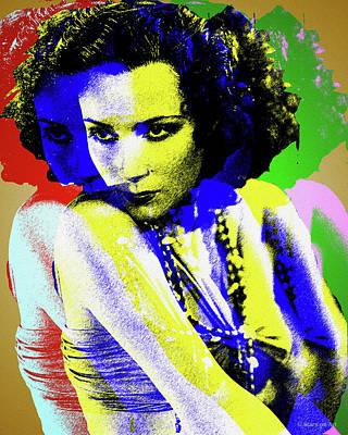 Digital Art - Dolores Del Rio by Stars on Art
