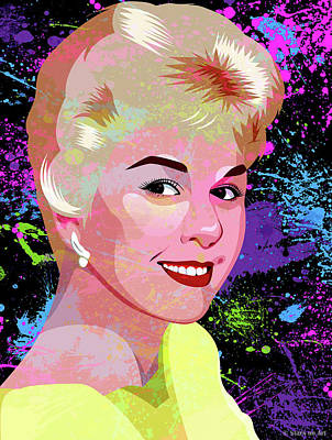 Modern Man Air Travel - Doris Day by Stars on Art