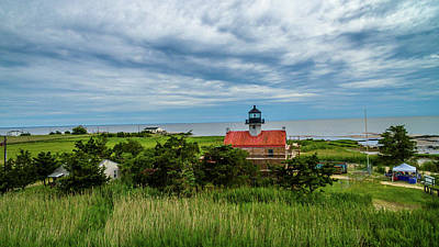 Photograph - East Point Lighthouse Photograph by Louis Dallara