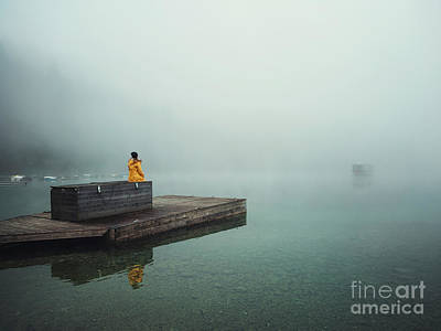 Royalty-Free and Rights-Managed Images - Echoes In The Fog by Evelina Kremsdorf
