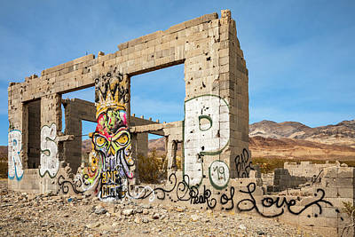 Whimsically Poetic Photographs Rights Managed Images - Elizalde Cement Company Ruins Royalty-Free Image by James Marvin Phelps