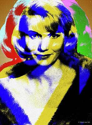 Royalty-Free and Rights-Managed Images - Eva Marie Saint by Stars on Art