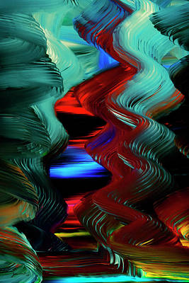 Digital Art - Flight of the Imagination by Gerlinde Keating - Galleria GK Keating Associates Inc
