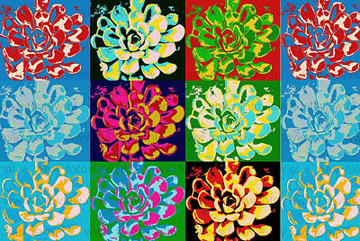 Angels And Cherubs - Flower Pattern by Marshal James