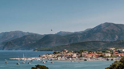 Photograph - Flying  boat at Saint Florent in Corsica by Jon Ingall