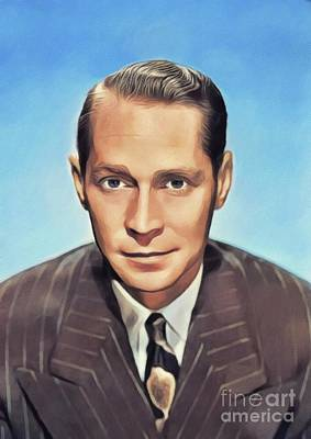 Royalty-Free and Rights-Managed Images - Franchot Tone, Vintage Actor by Esoterica Art Agency