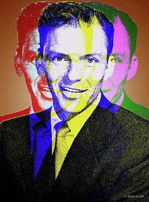 Digital Art - Frank Sinatra by Stars on Art