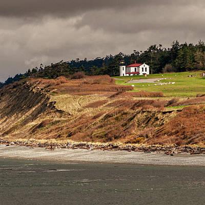 Photograph - Ft. Casey Lighthouse by Tony Locke