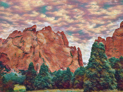 Winter Animals Rights Managed Images - Garden of the Gods 2 Royalty-Free Image by Ernie Echols