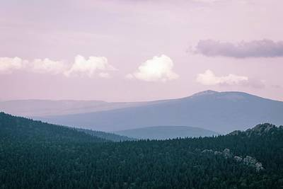Royalty-Free and Rights-Managed Images - Green Trees On Mountain Under White Clouds During Daytime  by Julien