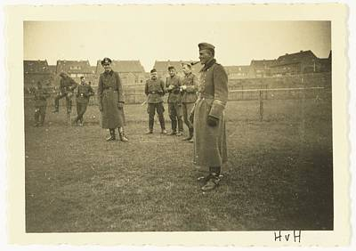 Modern Man Music - Group of Wehrmacht soldiers by Artistic Panda