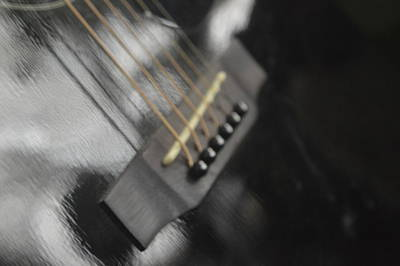 Photograph - Guitar by Michelle Hoffmann