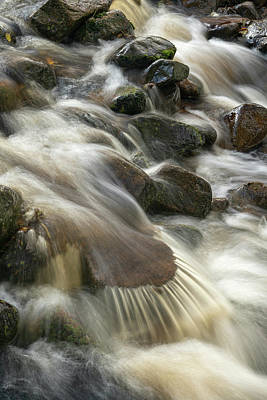 Photograph - Harthope Burn Waterfall  by David Taylor