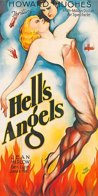 Royalty-Free and Rights-Managed Images - Hells Angels, with Jean Harlow, 1930 by Stars on Art