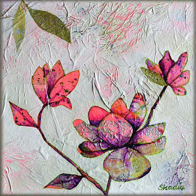 Royalty-Free and Rights-Managed Images - Hidden Magnolia I  by Shadia Derbyshire