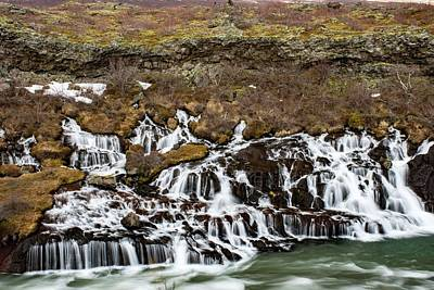Food And Flowers Still Life Rights Managed Images - Hraunfossar Royalty-Free Image by Robert Grac