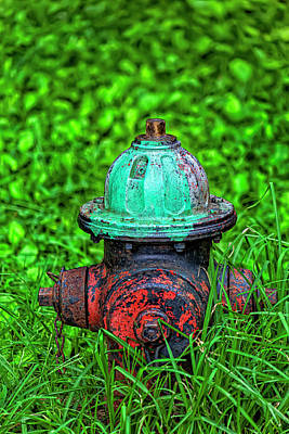 Space Photographs Of The Universe - Hydrant by Robert Ullmann