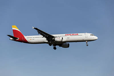 On Trend Breakfast - Iberia Airlines airbus A321-212 by David Pyatt