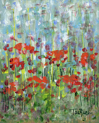 Painting - In The Garden by Lynne Taetzsch