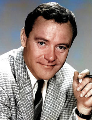 Royalty-Free and Rights-Managed Images - Jack Lemmon by Stars on Art