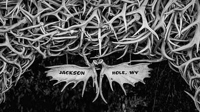 Gaugin Rights Managed Images - Jackson Hole Antler Arch Royalty-Free Image by Stephen Stookey