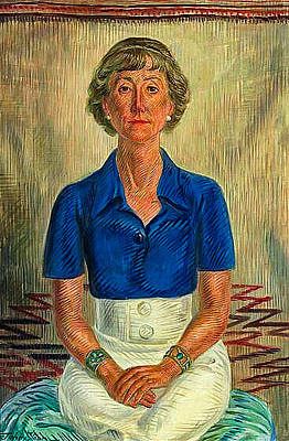 1-war Is Hell Royalty Free Images - John Sloan Portrait of Amelia Elizabeth White 1934 Royalty-Free Image by Artistic Rifki