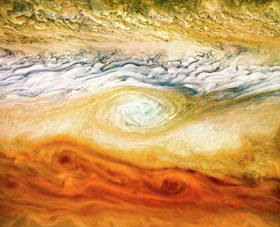 Wilderness Camping - Jovian Abstract 4 by Nasa