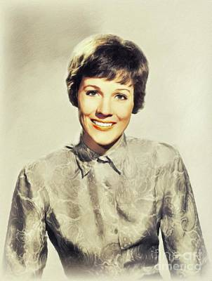 Parks - Julie Andrews, Vintage Actress by John Springfield