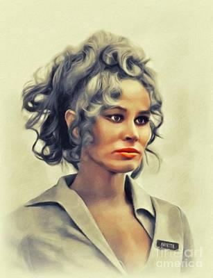 Animal Portraits - Karen Black, Vintage Actress by John Springfield