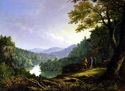 Painting Royalty Free Images - Kentucky Landscape 1832 Royalty-Free Image by James Pierce Barton