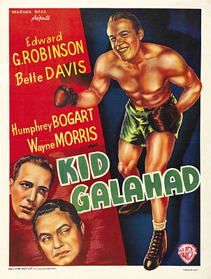 Bringing The Outdoors In - Kid Galahad - 1937 by Stars on Art