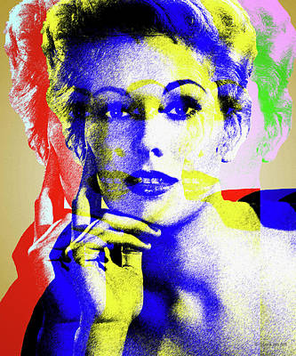 Royalty-Free and Rights-Managed Images - Kim Novak by Stars on Art