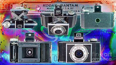 Vintage Performace Cars - Kodak Bantam F4.5 48mm by Anthony Ellis