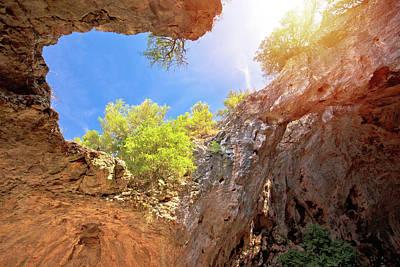 Keith Richards - Korcula. Vela spilja cave in Vela Luka on Korcula island view by Brch Photography