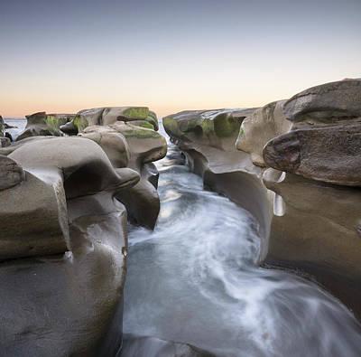 Photograph - La Jolla Shoreline at Dawn by William Dunigan