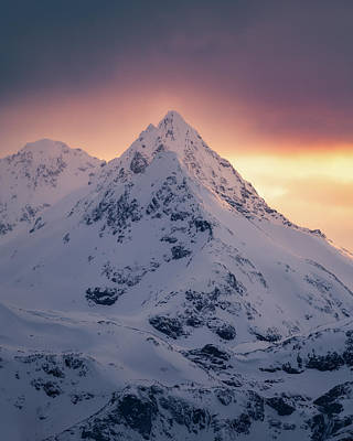 Photograph - Last Light by Tor-Ivar Naess