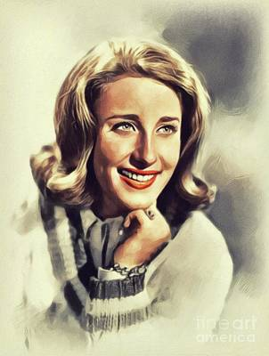 Music Paintings - Lesley Gore, Music Legend by John Springfield