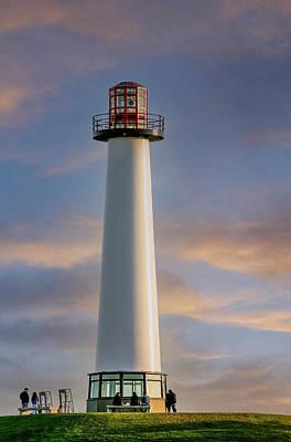 Car Photos Douglas Pittman - Lighthouse at Dusk by Darryl Brooks